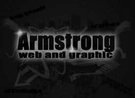 Armstrong web and Graphic by aaronhockey