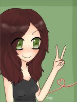 Me In Anime Ver. by fictionaloutcomes