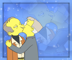 Burns and Smithers Sr. by MonacoMac