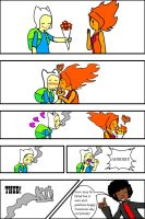 FinnxFlame Princess-valentine's day 2 by Blazeingman