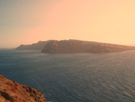 Sunset in the caldera by QuestoRosaInferno