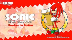 Sonic the Comic : Knuckles by adamis