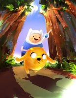 Adventure Time by ChocolateKnife