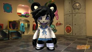 ModNation Racers Kenny school gi- uh boy outfit by Blucaracal