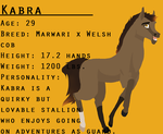 Kabra Reference Sheet by flawless-brony