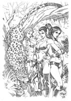 Women of Jaguar Clan by pipin
