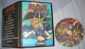 Yu-Gi-Oh Abridged DVD and Box by Bayleef-