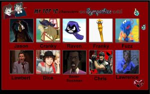 My top ten characters i feel sorry for 2 by porygon2z