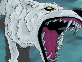 Wolf's Rain- Kiba Colored by CBummers