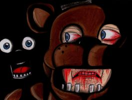 Five Nights at Freddy's by charcoalman