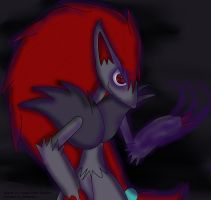 Shadows fear him by Fangy-From-Shadow