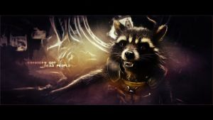 Rocket Raccoon wallpaper (5) by BiigM