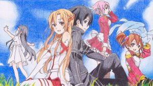 Drawing Challenge: SAO by swirlingfire1