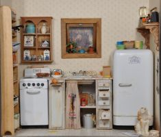 Uneeda Bakers 1:12 Kitchen by MiniatureMadness