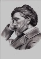Thomas Carlyle by blackdahliah