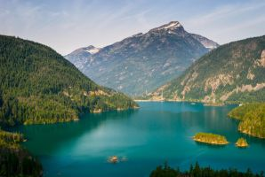 Ross Lake by TomGreenPhotos