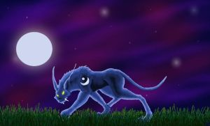 Night Elf Druid Cat Form by CalleStar