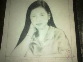 My Mother's Portrait by JustinMallari09