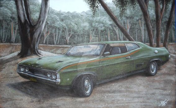 ford falcon XA coupe by that-car-bloke