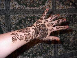 Indian Bridal Hand by crazed-fangirl
