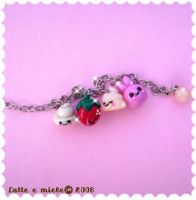 Happy mix bracelet by lattemiele