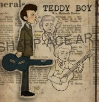 Teddy Boy by SharpAce