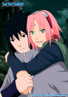 SasuSaku. He's mine. by byBlackRose