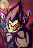 Vegeta's Final Shine by iJayRoc