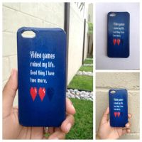 Videogames ruined my life ipod/iphone 4 or 5 case by Saloscraftshop