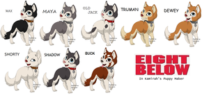 Eight Below Dogs by CatyTheHedgehog