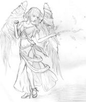 Anime Angel by bloominglove