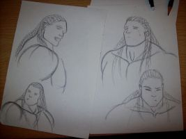 Obhantaa silly sketches by twisk