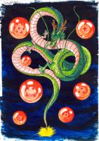 Shenron The Omnipotent by Zackary