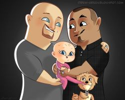Commmission - New Fathers by DrewGreen