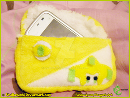 Jirachi Gameboy Micro Pouch by UraHameshi
