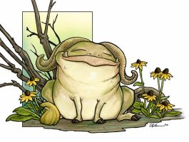 Troll and Squash by ursulav