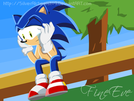 Sonic Sad by me by SilverAlchemist09