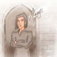 Snape: Always by deimlacquer