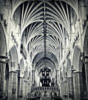 Exeter Cathedral II by Kiwi29
