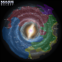 Mass Effect Galaxy Map 2.5 by DWebArt