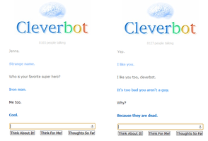 Oooh Cleverbot by ZappyAttack