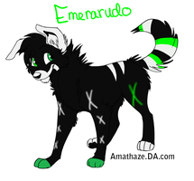 :BO:Emerarudo: by NightmareAdoptables