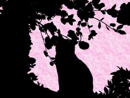 Cat Shadow Wallpaper by Midnas