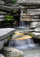Flowing Waterfall by TWOphotography