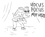 Request: angry magician with a cannon on his back by shook12