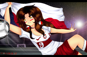 Good luck Poland!!!!!!!!! by Purrinee