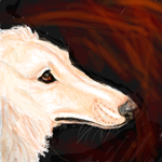 borzoi by Wolveslair