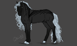 Design Auction: Babyblue Black by Frozenstallion