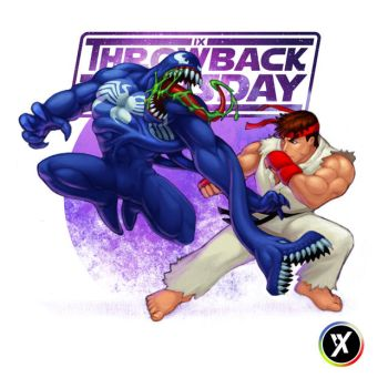 Venom VS Ryu by WEAPONIX