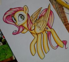 Fluttershy by EvilDraw